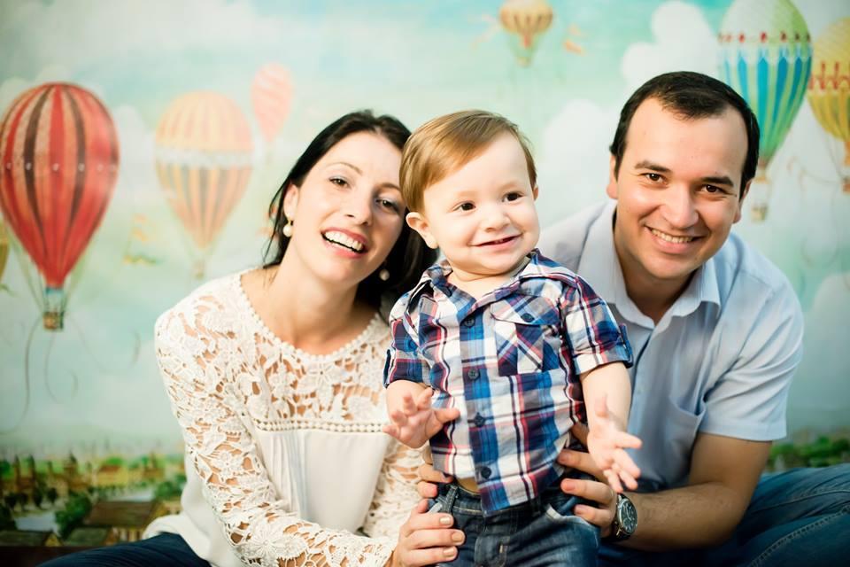 Cristiano e família