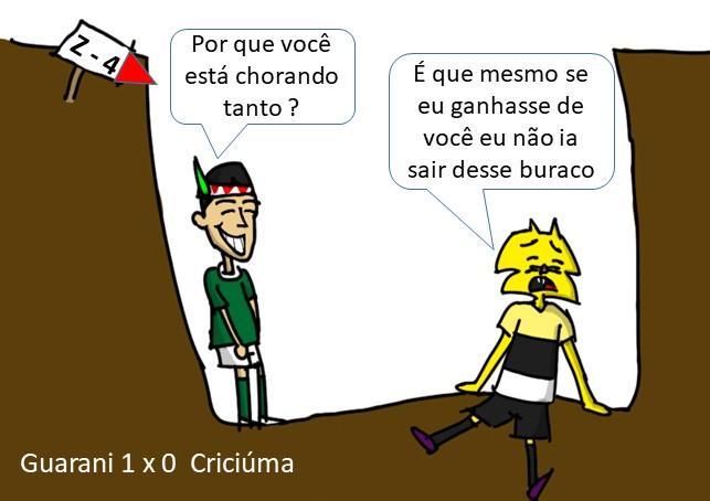 guarani 1 x 0 criciuma